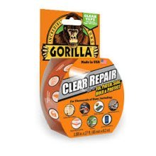 8.2m Clear Repair Gorilla Tape - 82m Glue Gloss Finish 3044701 x -  tape gorilla clear repair 82m glue gloss finish 3044701 x