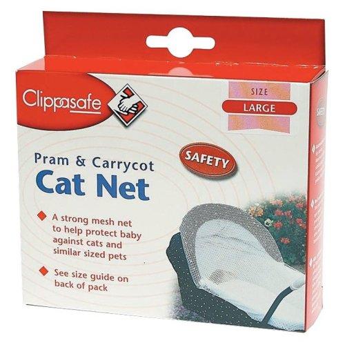 Clippasafe Pram & Pushchair Large Cat Net