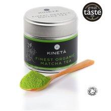 FINEST ORGANIC MATCHA GREEN TEA | Japanese matcha tea | Finest vibrant green powder | Super Premium Ceremonial Grade | Organic | Natural & Vegan |...