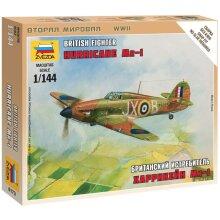 Zvezda Z6173 British Fighter Hurricane Mk-1 Model Kit