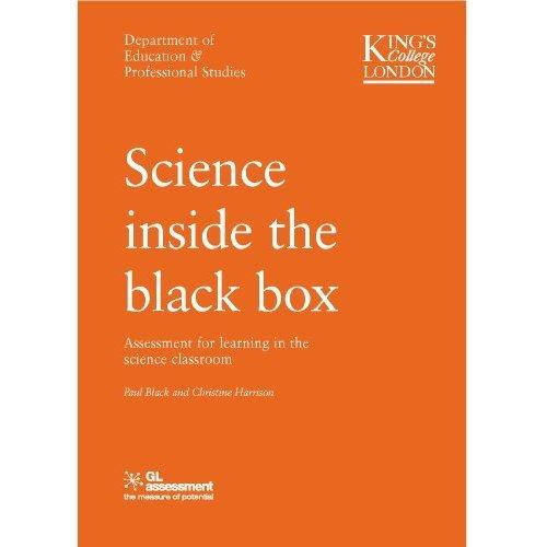SCIENCE INSIDE THE BLACK BOX