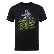 Beetlejuice 'Beetlejuice Faded' (Black) T-Shirt
