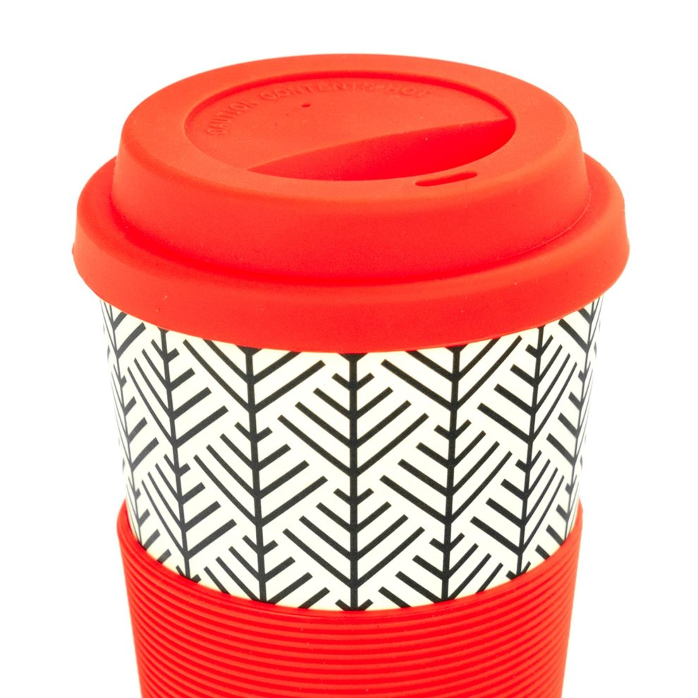 Reusable Coffee Cup | 12oz340ml | Double Walled | Vacuum Insulated | Stainless Steel | Eco Friendly Thermal Cup | bru (Spiced orange)