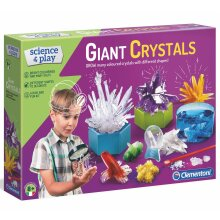 Clementoni Giant Coloured Crystals Laboratory - Science & Play - Ages 8 Years +