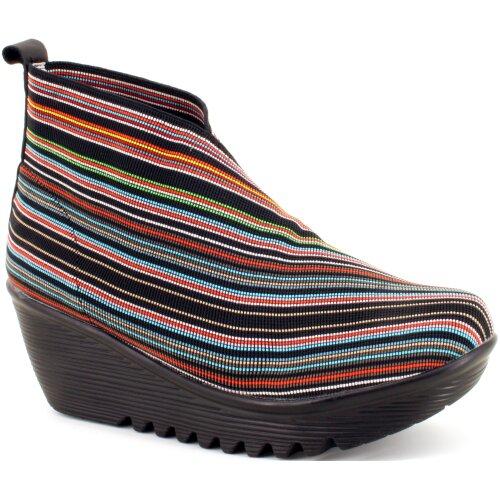 (40 EU) Bernie Mev Women's Maile Fashion Boots - Multi Mix
