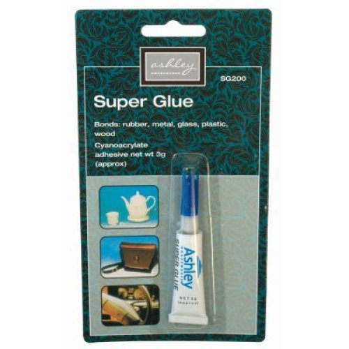 Super Glue 3g Strong Adhesive Clear - Blackspur