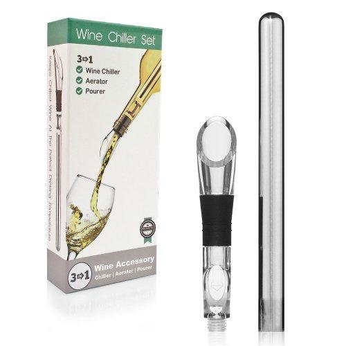 Wine Chiller Aerator & Pourer Set
