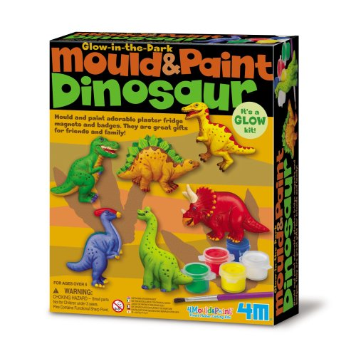 Dinosaur Mould & Paint Kit