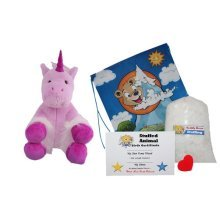 "Make Your Own Stuffed Animal ""Mystic The Unicorn"" - No Sew - Kit With Cute Backpack!"