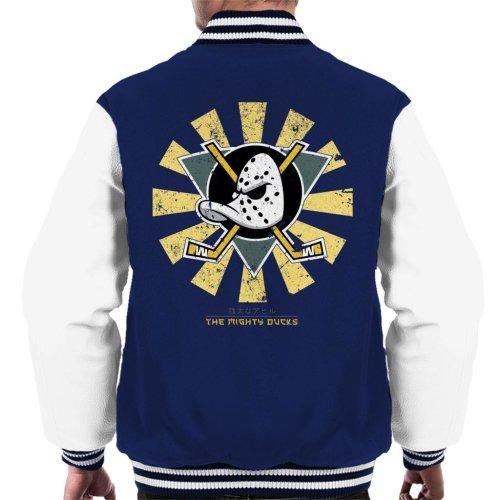 The Mighty Ducks Retro Japanese Men's Varsity Jacket