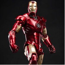 ZD Toys Marvel Iron Man Mark III LED Version Action Figure (1907-03)
