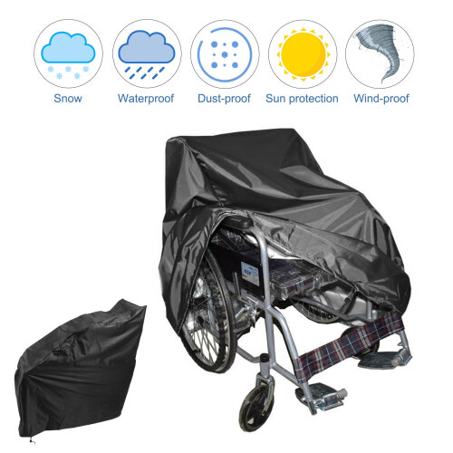 Rain Protection Waterproof Wheelchair Cover Storage Cover