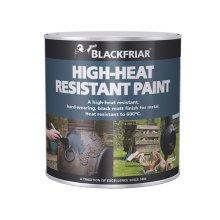 Blackfriar  BF0520004F1 Heat Resistant Paint Black 250ml