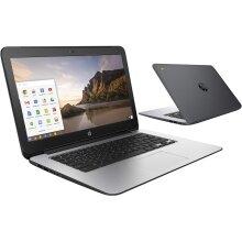 BLACK HP CHROMEBOOK 14in G1 INTEL 1.4GHZ 4GB RAM 16GB SSD HD WEBCAM CHROME OS (Renewed) - Refurbished