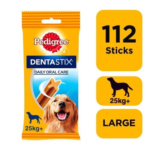 PEDIGREE DentaStix Large Dog Dental Chews 28 Stick (Pack of 4)