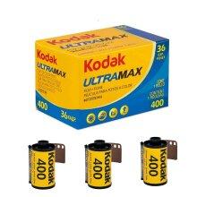 3 x Kodak Ultra Max 400 Film 35mm (36 Exposure) for M35 M38