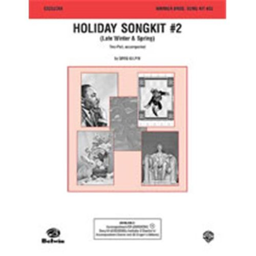 Alfred 00-C0232C6X HOLIDAY SONGKIT #2 2-PT