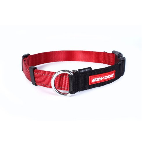 Ezydog Checkmate Collar, Small, Red