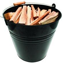 Valiant Kindling & Ash Metal Fireside Bucket (30cm Diameter)