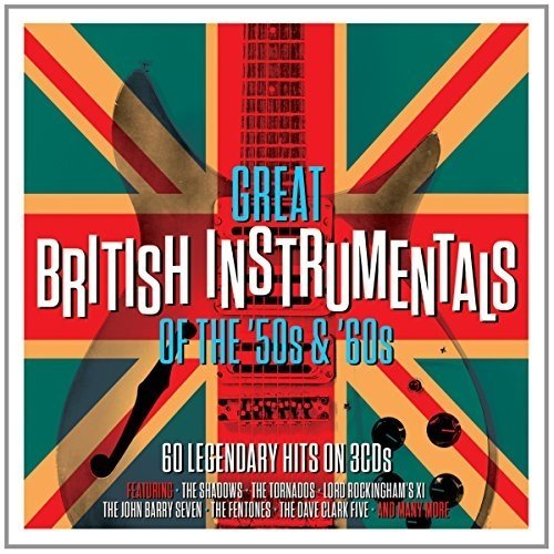 Great British Instrumentals of the 50s and 60s [3cd Box Set]