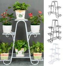 6 Tier Metal Plant Stand Rack Garden Flower Display Shelf