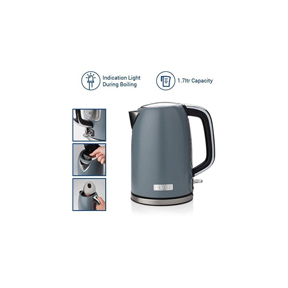 Perth Slate Grey 1.7 litre Kettle