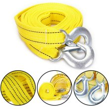 5 TONNE 4M Tow Towing Pull Rope Strap Rope Belt Heavy Duty Car