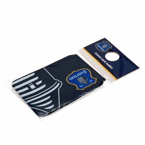Everton Travel Card Wallet - Season Ticket Holder - Dark Blue