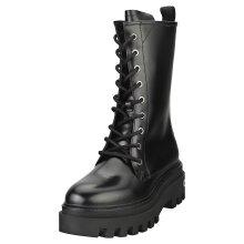 Calvin Klein Flatform Mid Womens Classic Boots in Black