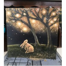 The Magic Tree Greetings card by Hannah Willow
