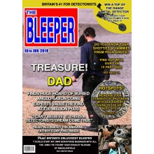 """Metal Detector Father's Day Greeting Card Magazine Spoof 8""""x5.5"""""""