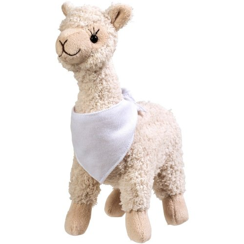 Cuzco Plush Alpaca With Brandable Bandana