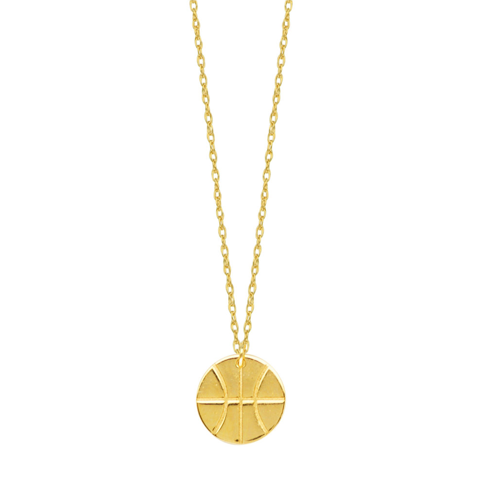 14K Yellow Gold Car Pendant on an Adjustable 14K Yellow Gold Chain Necklace