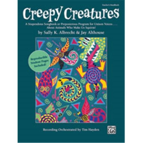 Alfred 00-35851 CREEPY CREATURES-TCH HBK