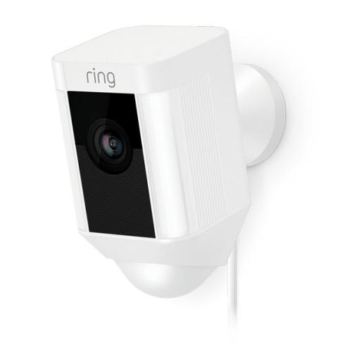 Ring Spotlight  Hardwired Cam - White