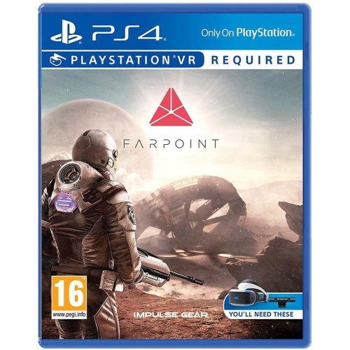 Farpoint Playstation PS4 Virtual Reality Game