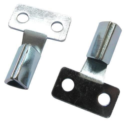 2 x Meter Box Gas Electric Metal Triangle Key