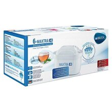 BRITA MAXTRA Water Filter Cartridges - Pack of 6 (EU Version)