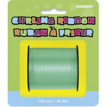 Unique Party 100 Yards Ribbon Roll - Emerald Green - Curling -  ribbon party curling green unique emerald