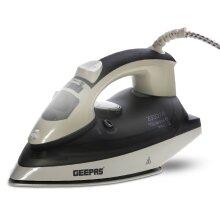 Geepas 2200W Steam Iron for Crisp Ironed Clothes – Ceramic Plates