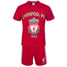 Liverpool FC Official Football Gift Mens Short Pyjamas Loungewear