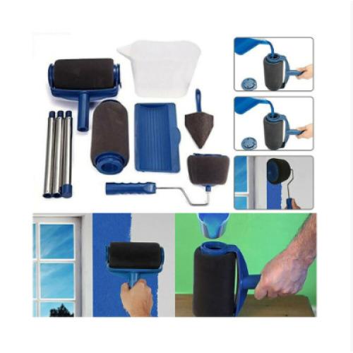 (8pcs) Paint Roller Pro Brush Set Wall Painting Roller