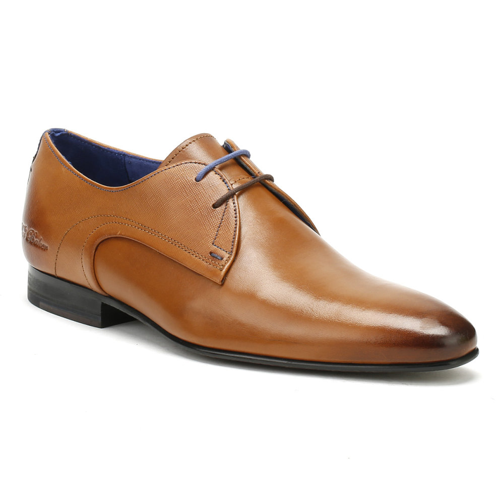Ted Baker Mens Tan Leather Peair Shoes