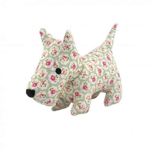 Cath Kidston Provence Rose Tough Cotton Canvas Stanley Plush Dog Toy