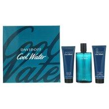 Davidoff Cool Water Gift Set 125ML EDT A/Balm 75ML Shower Gel 75ML