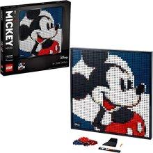 LEGO 31202Art Disneys MickeyMouse Canvas Wall Décor,DIY Set for Adults