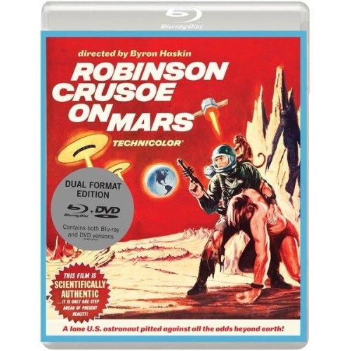 Robinson Crusoe On Mars Blu-Ray + DVD [2015] - Used