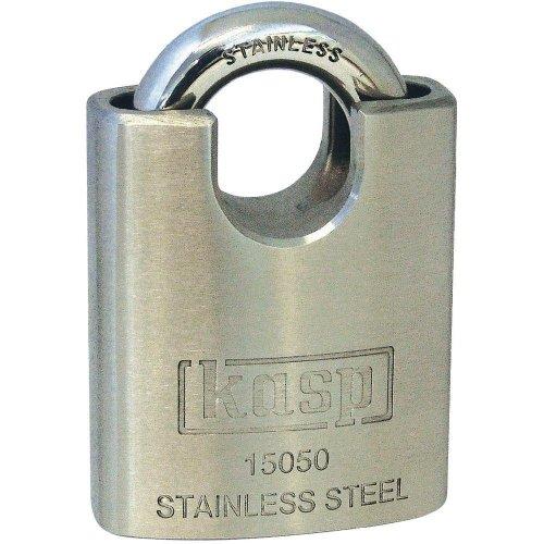 Kasp 150 Stainless Steel Padlock - 50 Millimeters