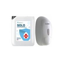 Solo - Alcohol Hand Sanitiser Gel + Dispenser | Chemiphase Ltd