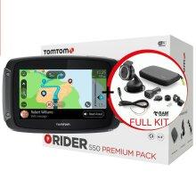TomTom Rider 550 Premium Motorcycle GPS SATNAV